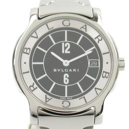 BVLGARI Bulgari Solo Tempo Watch Watch ST35S Silver Stainless Steel (SS) [Used] [