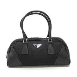 PRADA Prada Handbag Black Nylon x Leather [Used] [Rank C] Ladies
