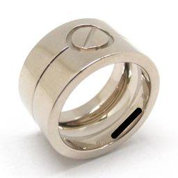 Cartier カルティエ ハイラブ リング 指輪 シルバー K18WG(750) ホワイトゴールド 【中古】【ラ