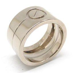 Cartier カルティエ ハイラブリング 指輪 シルバー K18WG(750) ホワイトゴールド 【中古】【ラン