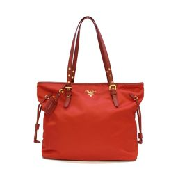 PRADA Prada Tote Bag Red Nylon [Used] [Rank A] Ladies