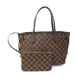 LOUIS VUITTON never full PM tote bag N41359 Damier monogram [used]