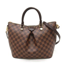 LOUIS VUITTON ルイヴィトン シエナMM 2wayハンドバッグ N41546 ダミエ ダミエ 【中古】
