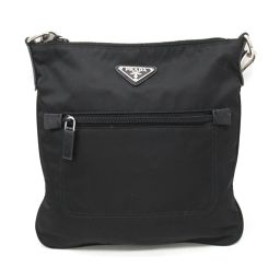 PRADA Prada Shoulder Bag BT0716 Black Nylon x Leather [Used] [Rank B] ​​Men / Le