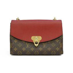 LOUIS VUITTON Louis Vuitton sampler seed chain shoulder bag M43713 brown