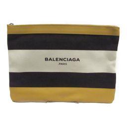 BALENCIAGA バレンシアガ クラッチ セカンド バッグ 420407 マルチカラー キャンバス 【中古】【