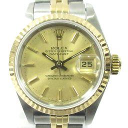 ROLEX ロレックス デイトジャスト ウォッチ 腕時計 69173 ゴールド ステンレススチール(SS) X K