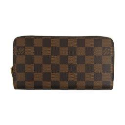 LOUIS VUITTON Louis Vuitton Zippy Wallet Round Purse N60046 Damier Damier [New