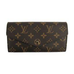 LOUIS VUITTON Portofeuil Sarah Folded wallet M62235 Monogram x Rose