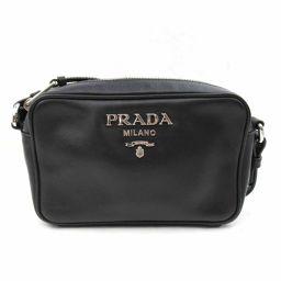 PRADA プラダ ショルダーバッグ 1BH096 ブラック 牛革(カーフ) 【中古】【ランクA】 レディース