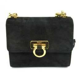 Salvatore Ferragamo Salvatore · Ferragamo Shoulder bag black suede [pre]