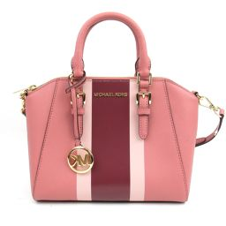 MICHAEL KORS Michael Kors 2way Shoulder Bag Pink Coated Canvas [Used] [Run]