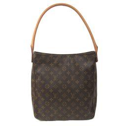 LOUIS VUITTON Louis Vuitton Looping Shoulder Bag M51145 Monogram Monogram 【Medium