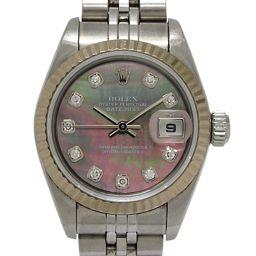 ROLEX ロレックス デイトジャスト レディースウォッチ 腕時計 79174NG シルバー K18WG(750)