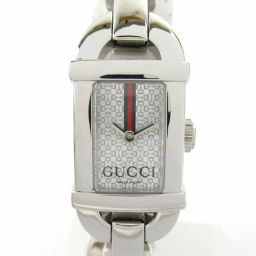 GUCCI Gucci Time Sea Beads Watch 6800L Silver Stainless Steel (SS) [Used]
