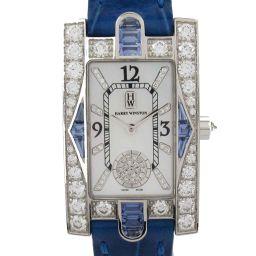 HARRY WINSTON Harry Winston Avenue Aurora Watch Watch 310LQW Blue K1
