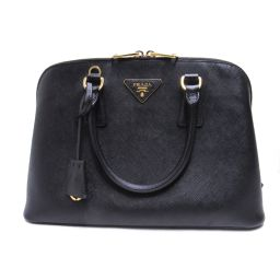 PRADA Prada 2way shoulder bag BL0837 Black Leather [Used] [Rank A] Ladies