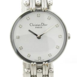 Dior Christian Dior Bagila Watch Wristwatch D44-120 Silver Stainless Steel (SS)