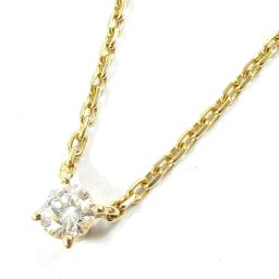 Cartier Cartier diamond necklace gold X clear K18YG (750) yellow gold