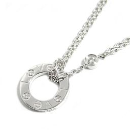 Cartier Cartier love necklace B7219400 silver K18WG (750) white gold