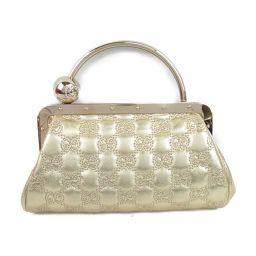 GUCCI Gucci Pouch Mini Handbag Party Bag 162875 Metallic Gold Gucci Shima [Medium