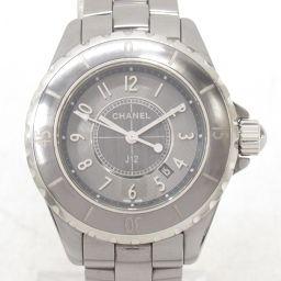 CHANEL シャネル J12 クロマティック 腕時計 ウォッチ H2978 グレー チタンxセラミック 【中古】