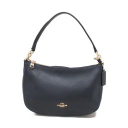COACH Coach Shoulder Bag 56819 Navy Leather [Used] [Rank A] Ladies