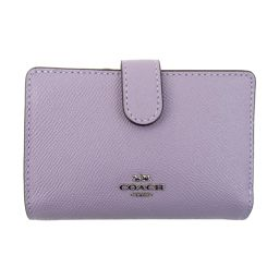 COACH Coach Leather L-type ZIP Wallet F11484 SV / LL Lilac Leather [New] Ladies
