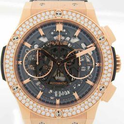 HUBLOT Hublot Classic Fusion Bezel Diamond King Gold Watch Wristwatch 525.OX.018