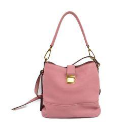 miu miu Miu Miu Madras 2way Shoulder Bag RR1951 ROSA Leather [Used] [Rank]