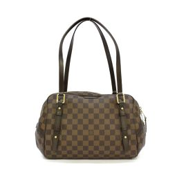 LOUIS VUITTON ルイヴィトン リヴィントンGM ショルダーバッグ N41158 ダミエ ダミエ 【中古