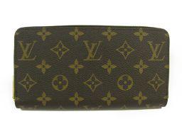 LOUIS VUITTON ルイヴィトン ジッピー・ウォレット ラウンド長財布 M41895 フューシャ モノグラ