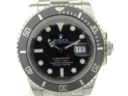 ROLEX ロレックス サブマリーナ ウォッチ 腕時計 メンズ 116610LN ブラック ステンレススチール(S