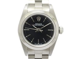 ROLEX ロレックス オイスター パーペチュアル レディース ウォッチ 腕時計 76080 シルバー ステンレス