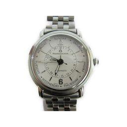 MAURICE LACROIX モーリス・ラクロア マスターピース ファイブハンズ 腕時計 ウォッチ シルバー ス
