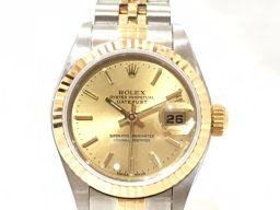 ROLEX ロレックス デイトジャスト 腕時計 WATCH 79173 ゴールド×シルバー ステンレススチール(S
