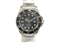 ROLEX ロレックス ロレックス ディープシー 腕時計 ウォッチ 116660 ブラック×シルバー ステンレスス