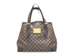 LOUIS VUITTON ルイヴィトン ハムステッドMM トートバッグ N51204 ダミエ ダミエ 【中古】【