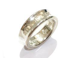 TIFFANY&CO ティファニー 1837リング 指輪 シルバー 925 【中古】【ランクA】 メンズ/レディー