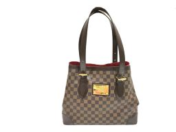 LOUIS VUITTON ルイヴィトン ハムステッドMM  トートバッグ N51204 ダミエ ダミエ 【中古】