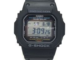 CASIO カシオ G-SHOCK ウォッチ 腕時計 3160 ブラック 樹脂 【中古】【ランクA】 メンズ