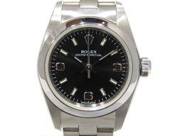 ROLEX ロレックス オイスター パーペチュアル ウォッチ 腕時計 76080 シルバー ステンレススチール(S