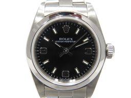 ROLEX ロレックス オイスター パーペチュアル ウォッチ 腕時計 76080/'04 シルバー ステンレススチ