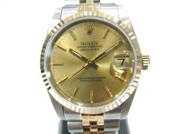 ROLEX ロレックス デイトジャスト 腕時計 ウォッチ ボーイズ 68273 ゴールド ステンレススチール(SS