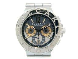 BVLGARI ブルガリ ディアゴノカリブロ303 腕時計 ウォッチ DG42SWGCH シルバー K18WG(7