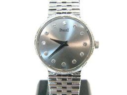 PIAGET ピアジェ 12Pダイヤ時計 腕時計 ウォッチ レディース シルバー K18WG(750)ホワイトゴー