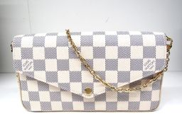 LOUIS VUITTON ルイヴィトン フェリーチェ N63106 ダミエアズール ダミエ・アズール 【中古】【