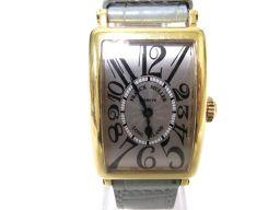 FRANCK MULLER フランク・ミュラー ロングアイランド 腕時計 ウォッチ 902QZ ゴールド K18Y