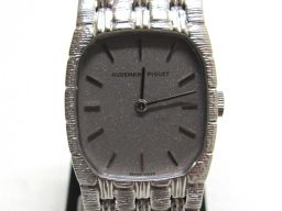 AUDEMARS PIGUET オーデマ・ピゲ 手巻き時計 腕時計 ウォッチ 821 シルバー K18WG(750