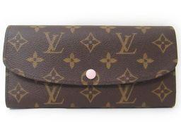 LOUIS VUITTON ルイヴィトン ポルトフォイユ エミリー 長財布 M61289 ブラウン×ピンク モノグ